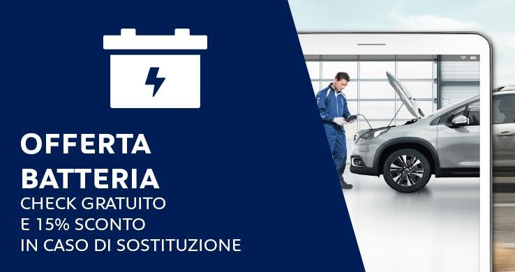 professione auto peugeot roma offerta batteria hp