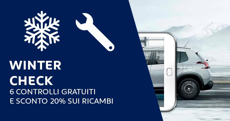 professione auto peugeot roma winter check hp