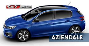 professione auto peugeot roma aziendale peugeot 308 gtline blu magnetic