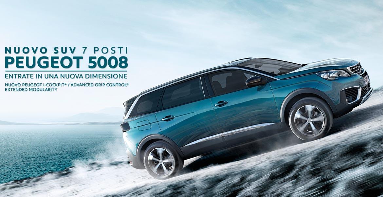 Nuovo Suv Peugeot 5008 Peugeot Roma Professione Auto