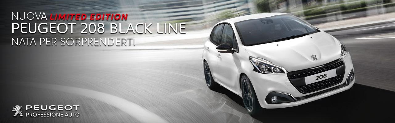 peugeot 208 black line limited edition professione auto peugeot roma